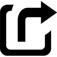 Symbol Externer Link